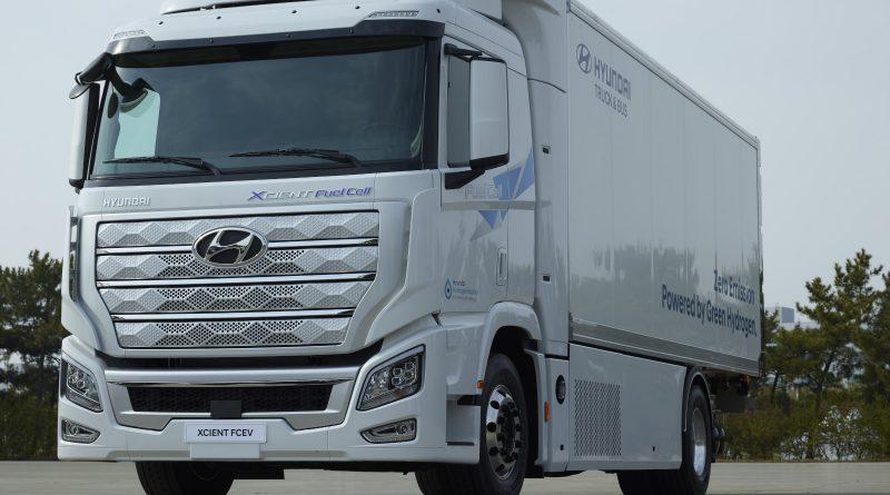Hyundai lancerà i suoi camion a idrogeno sul mercato USA nel 2022