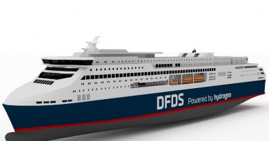 La compagnia danese DFDS progetta il primo traghetto di grandi dimensioni con propulsione a fuel cell di idrogeno