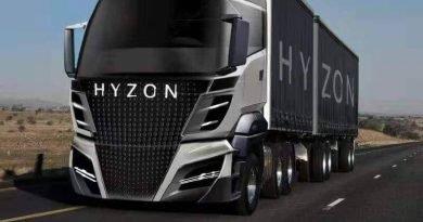 Hyzon Motors presenta un nuovo sistema di stoccaggio in grado di ridurre peso e costo dei suoi camion a idrogeno